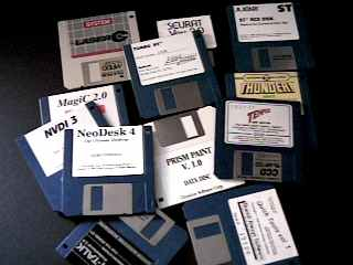 picture of all the cool Atari ST stuff that runs on Gemulator