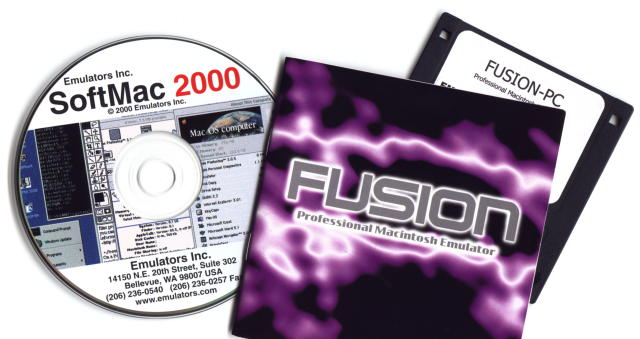 SoftMac 2000 CD-ROM with Fusion PC 3.0
