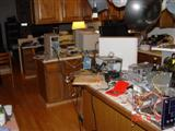 Even kitchen is overrun with hardware!
